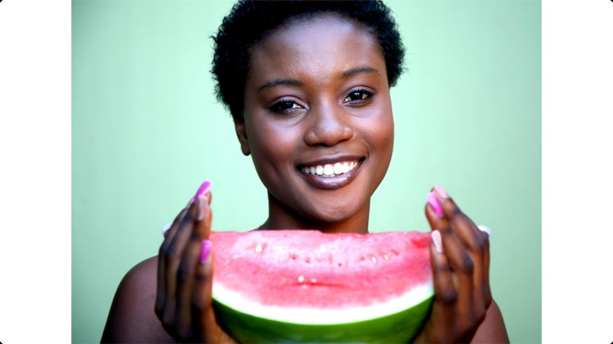 Comment maigrir et avoir un ventre plat avec la pastèque