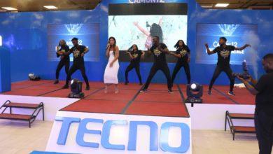 Photo de Tecno entreprise citoyenne travaille avec Nabila brand ambassador du Tecno Camon 12
