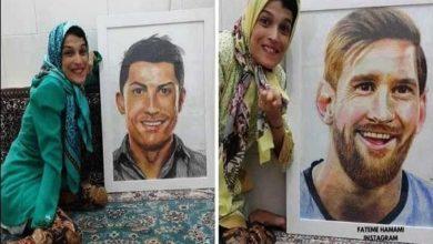 Photo of Fateme Hamami : découvrez l'artiste iranienne paralysée qui réalise le portrait des stars avec ses orteils !