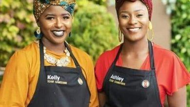 Photo de Ashley et Kelly, représentantes du Cameroun à la coupe du monde de la cuisine « Plate of origin », ont été éliminés