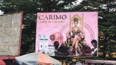 Photo de Une publicité de Carine Mongoue jugée « insolente », fait jaser