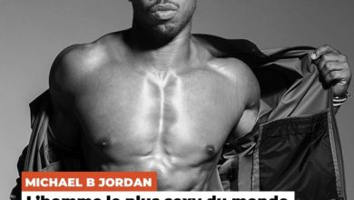 "Photo de Michael B. Jordan élu ""homme le plus sexy de 2020"""