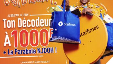Photo de StarTimes casse les prix pour sa nouvelle campagne: 1.000 Fcfa le Décodeur !