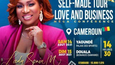 Photo de Coach Lady Sonia dépose ses valises au Cameroun pour le SELF-MADE Tour : LOVE & BUSINESS