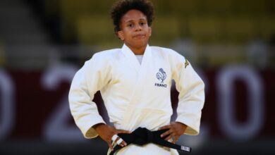 Photo de Jo 2020 : Amandine Buchard, la judokate menacée de mort